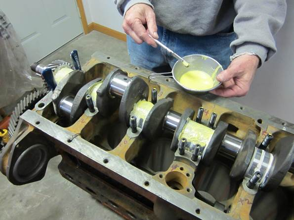 how to avoid connecting rod play
